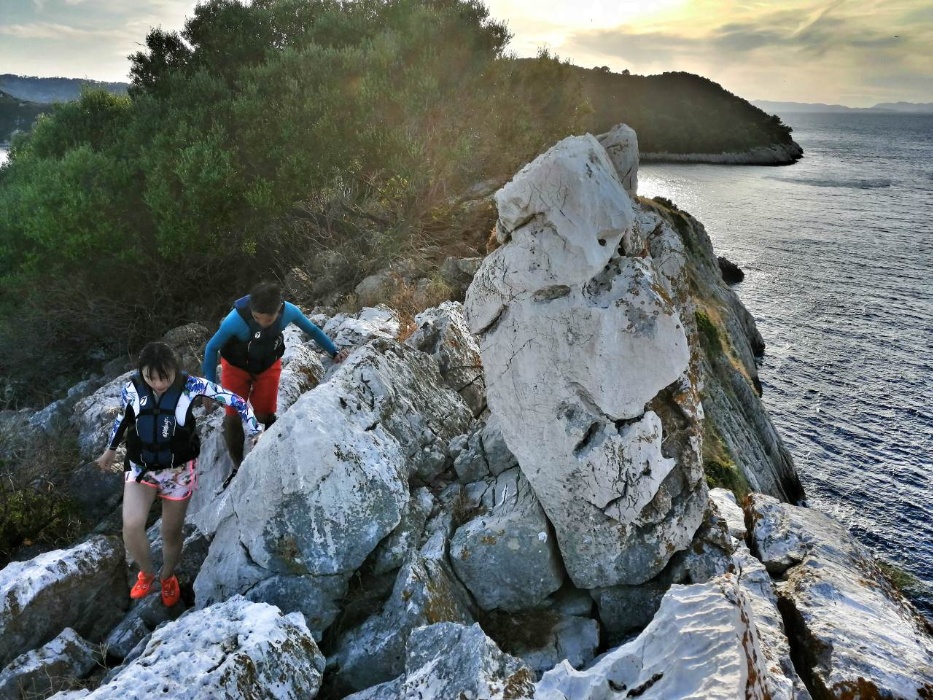 National Park Mljet Kayak Tour Abseiling Family Food Island
