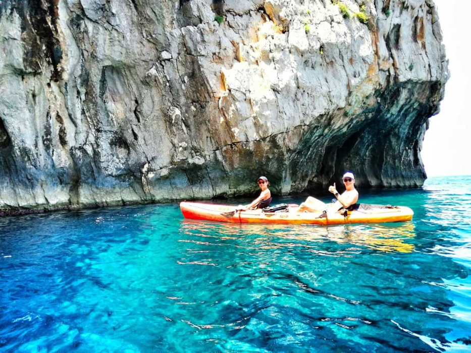 National Park Mljet Kayak Tour Abseiling Family