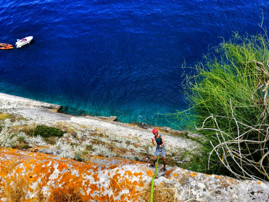 Dubrovnik National Park Mljet Kayak Tour Abseiling Family