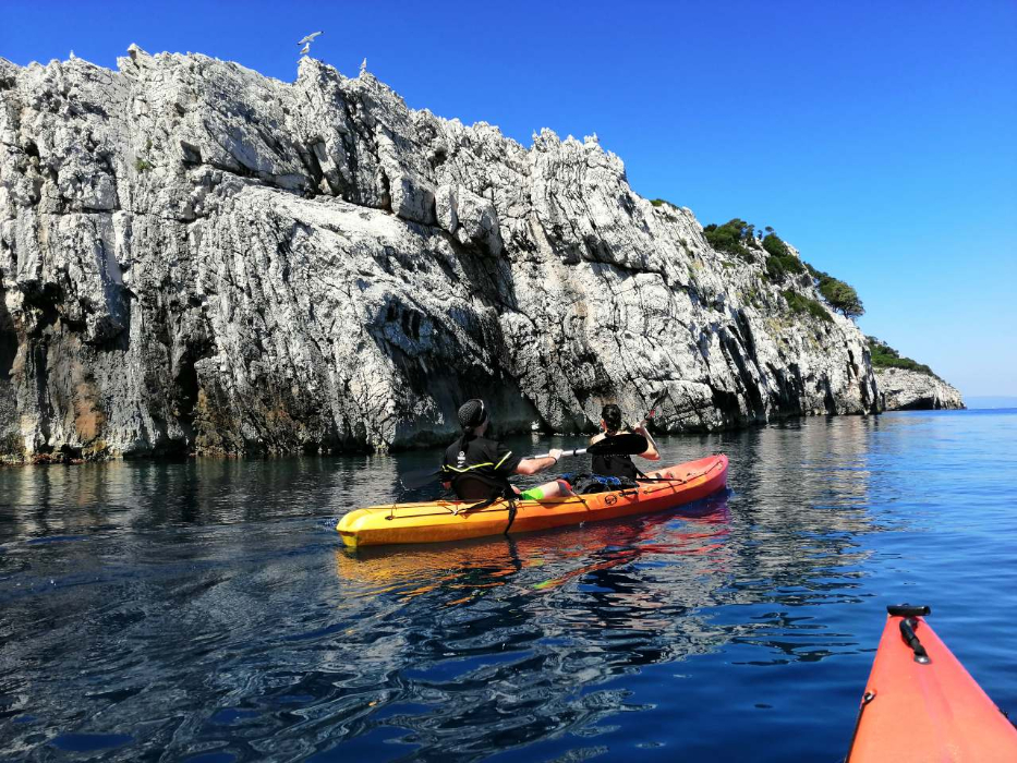 National Park Mljet Kayak Tour Abseiling Family Hiking Summer