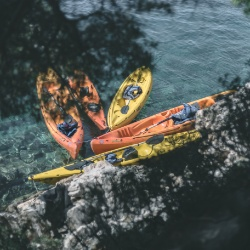kayaking and hiking on Mljet island